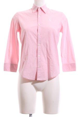 Ralph Lauren Sport Langarm-Bluse pink Business-Look