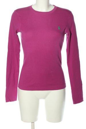 Ralph Lauren Sport Langarm-Bluse pink Casual-Look