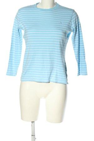 Ralph Lauren Sport Langarm-Bluse blau-weiß Streifenmuster Casual-Look