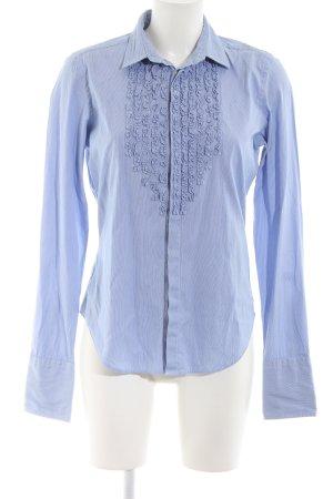 Ralph Lauren Sport Langarm-Bluse blau Business-Look