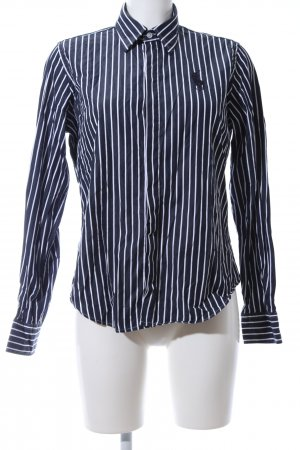 Ralph Lauren Sport Langarmhemd blau-weiß Streifenmuster Business-Look