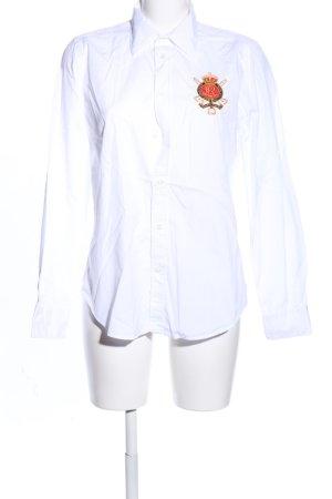 Ralph Lauren Sport Camicia a maniche lunghe bianco stile professionale