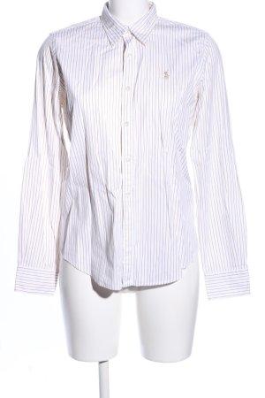 Ralph Lauren Sport Camicia a maniche lunghe bianco-bianco sporco motivo a righe