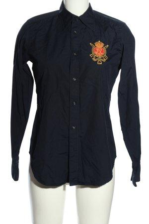 Ralph Lauren Sport Langarmhemd blau Casual-Look