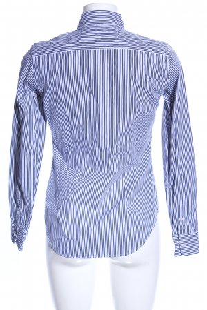 Ralph Lauren Sport Langarmhemd blau-weiß Motivdruck Casual-Look