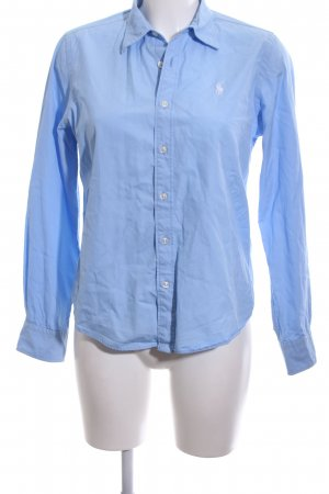 Ralph Lauren Sport Langarmhemd blau Business-Look