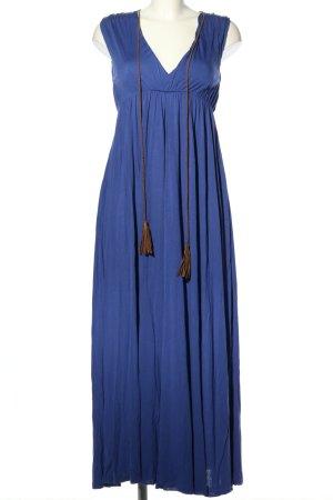 Ralph Lauren Sport Maxikleid blau Casual-Look