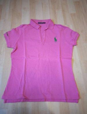 Ralph Lauren Sport Polo Damen * pink * Größe M