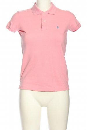 Ralph Lauren Sport Polo rosa stile casual