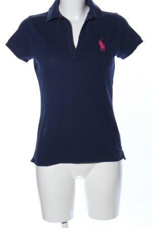 Ralph Lauren Sport Polo blu stile casual