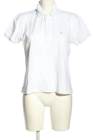 Ralph Lauren Sport Polo-Shirt weiß Casual-Look