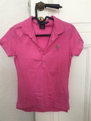 Ralph Lauren Sport Polo shirt roze Katoen