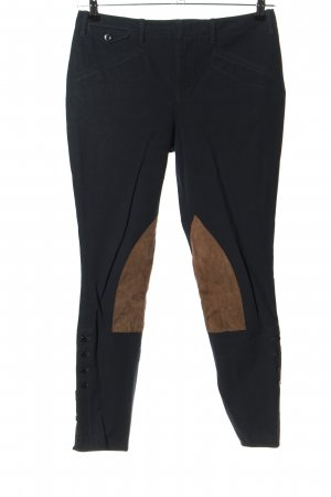 Ralph Lauren Sport Riding Trousers black-brown casual look