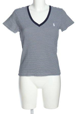 Ralph Lauren Sport Stripe Shirt white-blue striped pattern casual look