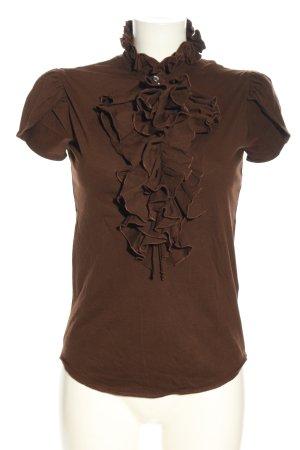 Ralph Lauren Sport Strickshirt braun Casual-Look