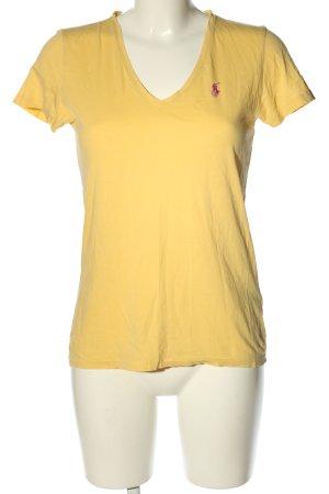 Ralph Lauren Sport T-Shirt hellorange Casual-Look
