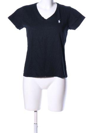 Ralph Lauren Sport T-Shirt schwarz sportlicher Stil
