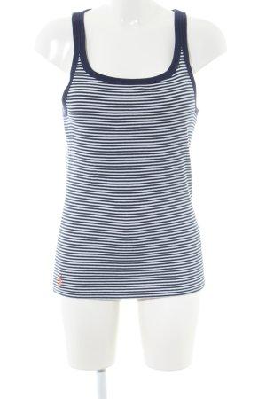Ralph Lauren Sport Tanktop blauw-wit gestreept patroon casual uitstraling