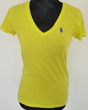 Ralph Lauren Sport, Tshirt kurzarm,neongelb / limettengelb, Gr. XS, NEU