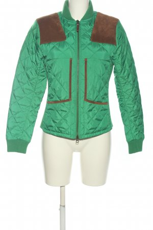 Ralph Lauren Sport Übergangsjacke grün-braun Steppmuster Casual-Look
