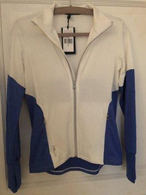 Ralph Lauren Sportjacke weiß blau Gr. S