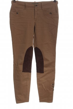 Ralph Lauren Jersey Pants brown cable stitch casual look