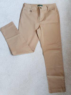 Ralph Lauren Stoffhose in beige