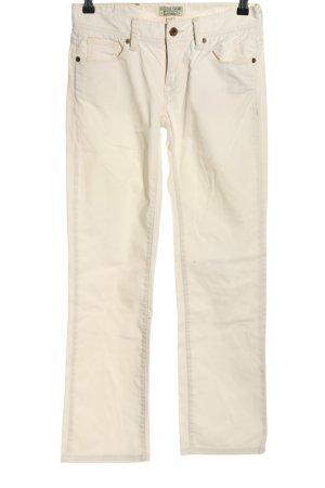 Ralph Lauren Straight-Leg Jeans wollweiß Casual-Look