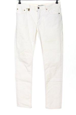 Ralph Lauren Jeans slim blanc style décontracté