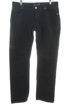 Ralph Lauren Straight-Leg Jeans schwarz Casual-Look