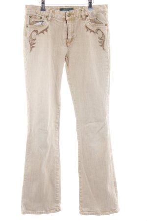 Ralph Lauren Straight-Leg Jeans Farbverlauf Country-Look