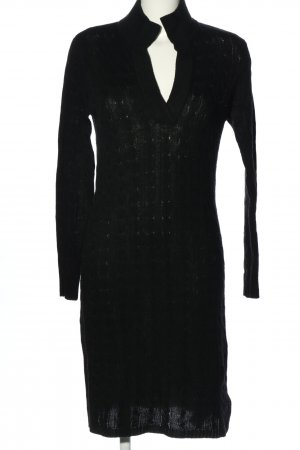 Ralph Lauren Knitted Dress black cable stitch casual look