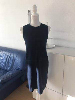 Ralph Lauren Robe en laine bleu foncé tissu mixte
