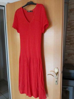 Lauren by Ralph Lauren Midi Dress red