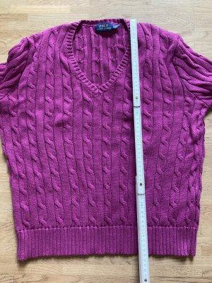 Polo Ralph Lauren Pull torsadé violet-violet