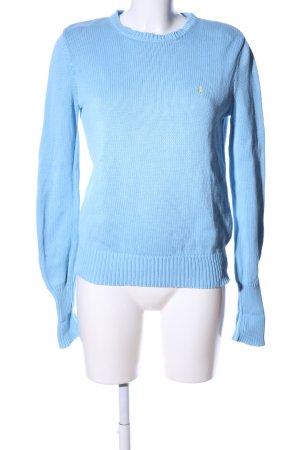 Ralph Lauren Strickpullover blau Casual-Look