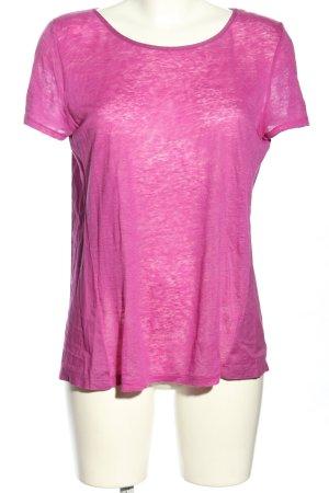 Ralph Lauren Camisa tejida rosa look casual