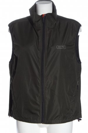 Ralph Lauren Sports Vests khaki printed lettering casual look