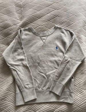 Polo Ralph Lauren Chaqueta de tela de sudadera gris claro-azul