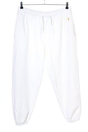 Ralph Lauren Pantalon de jogging blanc style décontracté