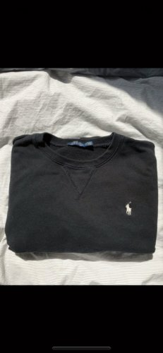 Ralph Lauren Jersey largo negro-blanco