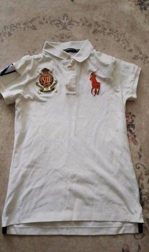 Ralph Lauren Polo shirt wit-rood