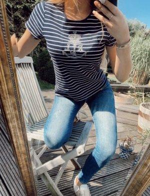 Ralph Lauren T-Shirt blau / weiß gestreift