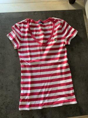 Ralph Lauren T-Shirt Damen V-Ausschnitt Gr.S neuw.