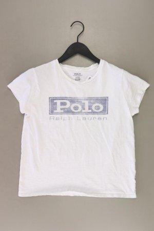 Ralph Lauren T-Shirt Größe M Kurzarm weiß aus Baumwolle