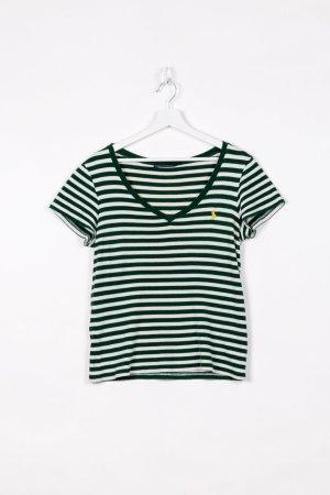 Ralph Lauren T-shirt bianco-verde Cotone
