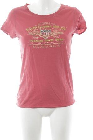 Ralph Lauren T-Shirt mehrfarbig Casual-Look