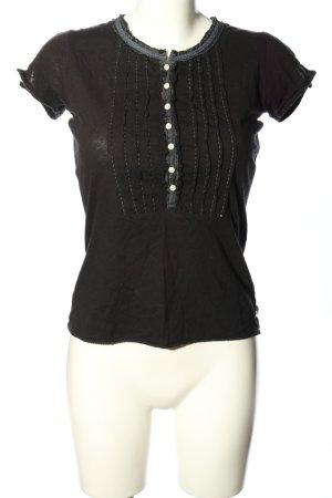 Ralph Lauren T-Shirt schwarz-hellgrau Casual-Look