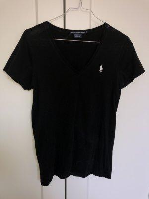 Ralph Lauren t-shirt schwarz v Ausschnitt