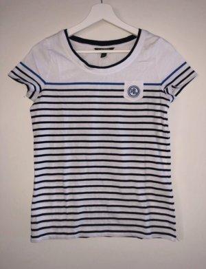 Ralph Lauren T-Shirt weiß/blau